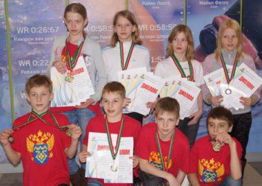 Турнир по плаванию в Казани