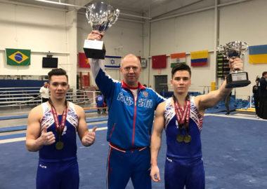 Три медали из Америки